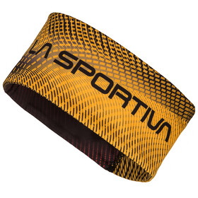La Sportiva Race Headband Men Black/Yellow